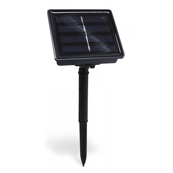 LED Solarlichterkette Linga - Solarset - montiert