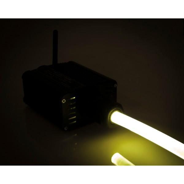Lichtgenerator-16W-Lichtwellenleiter-gelb