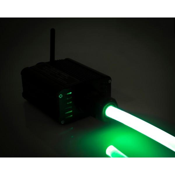 Lichtgenerator-16W-Lichtwellenleiter-gruen
