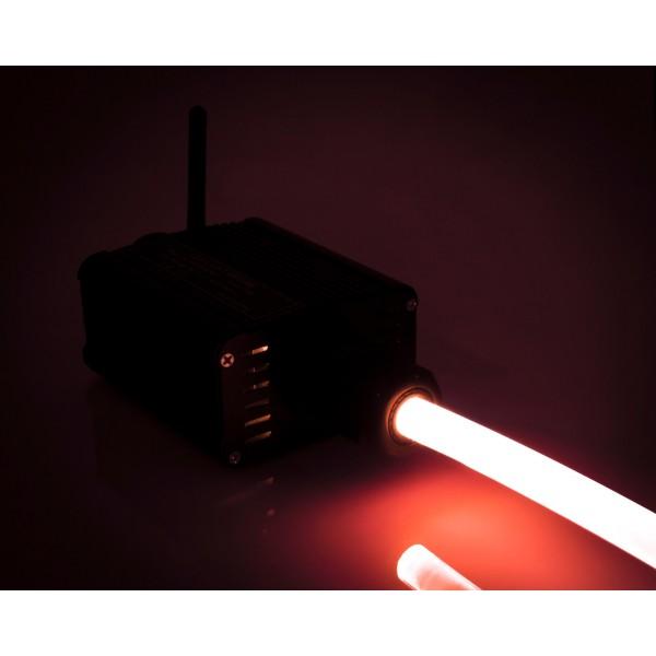 Lichtgenerator-16W-Lichtwellenleiter-rot