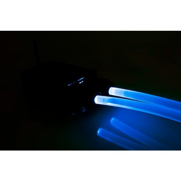 Lichtgenerator-32W-Lichtwellenleiter-blau