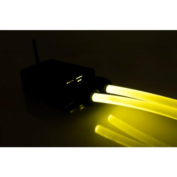 Lichtgenerator-32W-Lichtwellenleiter-gelb