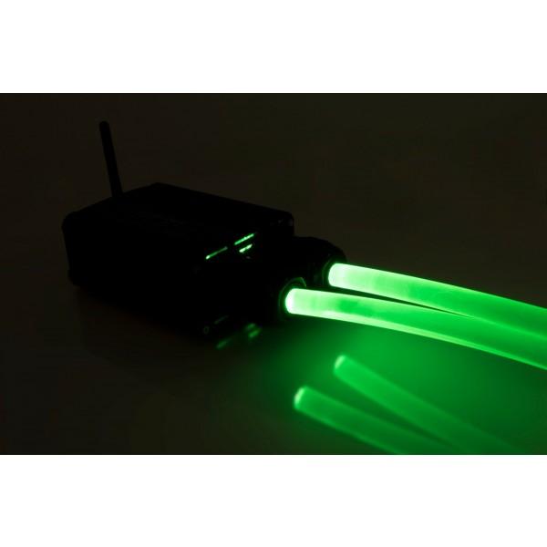 Lichtgenerator-32W-Lichtwellenleiter-gruen
