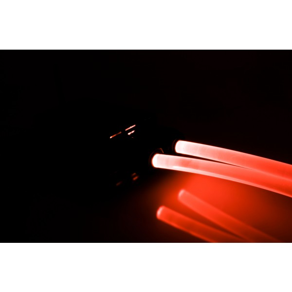 Lichtgenerator-32W-Lichtwellenleiter-rot