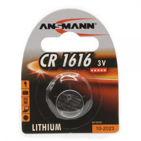 Lithium Knopfzelle CR1616 - Verpackung