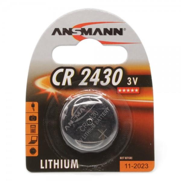 Lithium Knopfzelle CR2430 - Verpackung