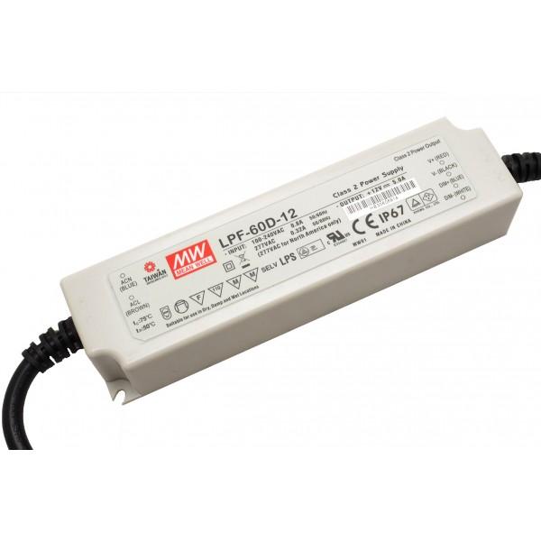 MeanWell LPF 60 Watt dimmbar in der 12V Version
