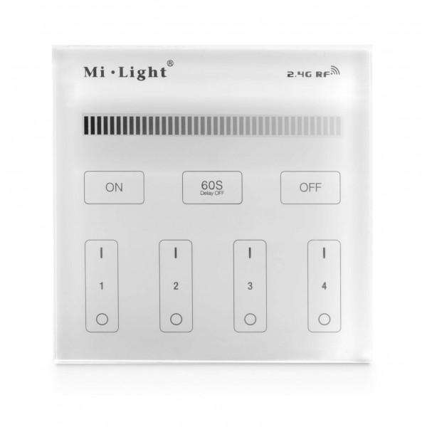 Milight 4 Zonen Wandsteuerung Einfarbig Unterputz 230V 2,4GHz