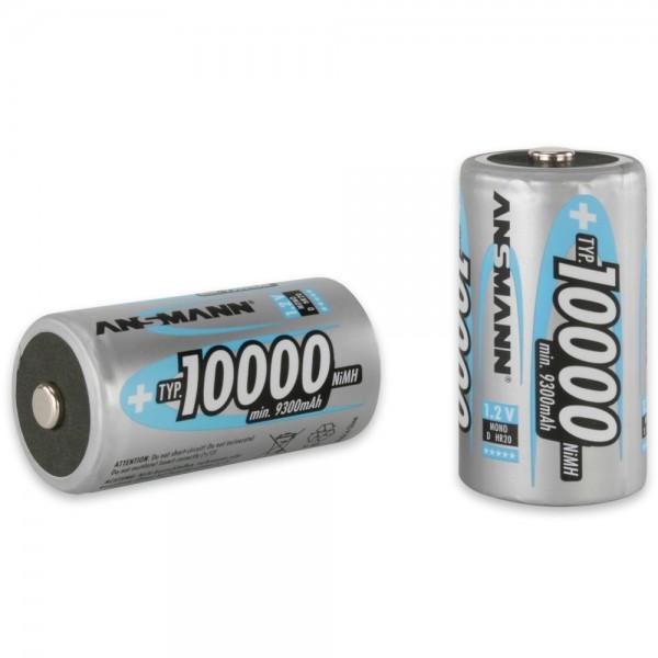 ANSMANN NiMH Akku Mono D Typ 10000