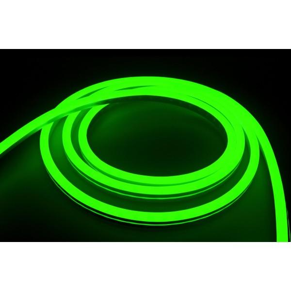 NeonFlex Pro230 gr??n LED Streifen - angeschaltet