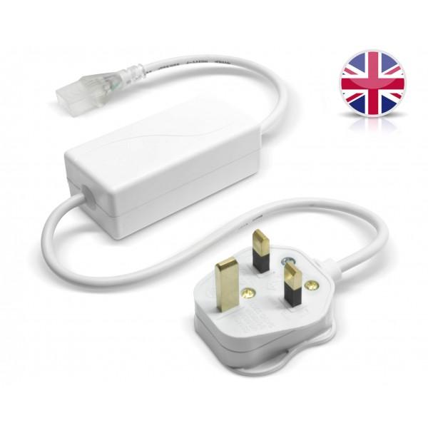 NeonFlex Pro230 LED Streifen - Netzteil und Controller mit BS-Plug (Gro??britannien)