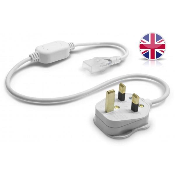 NeonFlex Pro230 LED Streifen - Netzteil mit BS-Plug (Gro??britannien)
