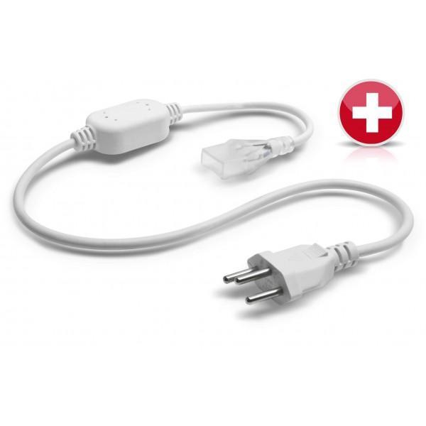 NeonFlex Pro230 LED Streifen - Netzteil mit Typ-J-Steckverbinder (Schweiz)