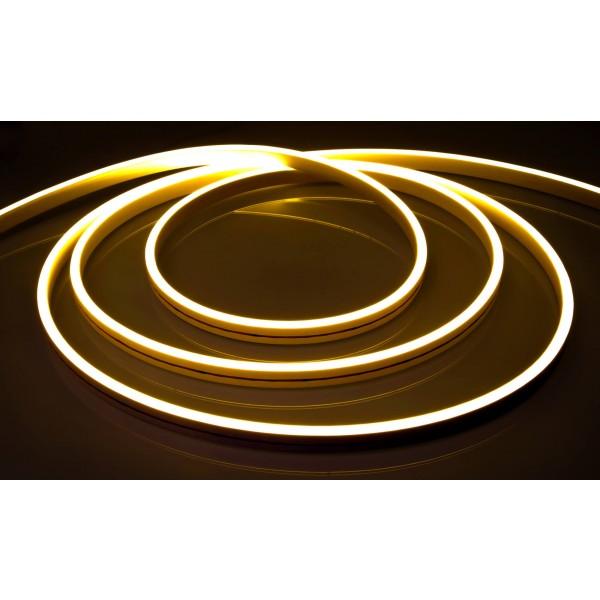 LED Neonflexstreifen warmweiß 24V