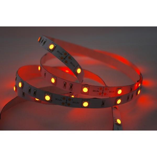 LED Treppenbeleuchtung - Beispiel Farbwiedergabe - rot