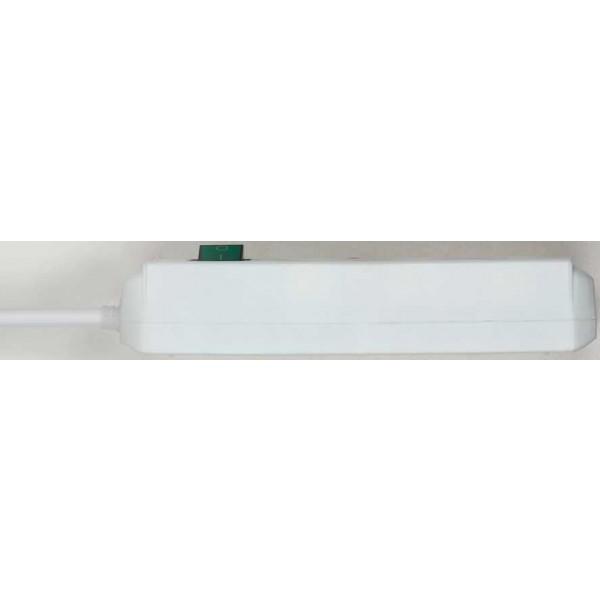 Brennenstuhl Eco-Line Steckdosenleiste mit Schalter 3-fach - Detailansicht von der Seite