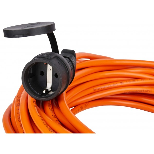Brennenstuhl Bremaxx Verl??ngerungskabel IP44 25m orange AT-N07V3V3-F 3G1,5