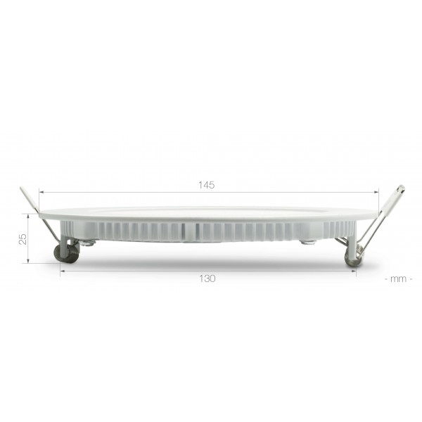 Rundes LED Panel - 9W - Bema??ung