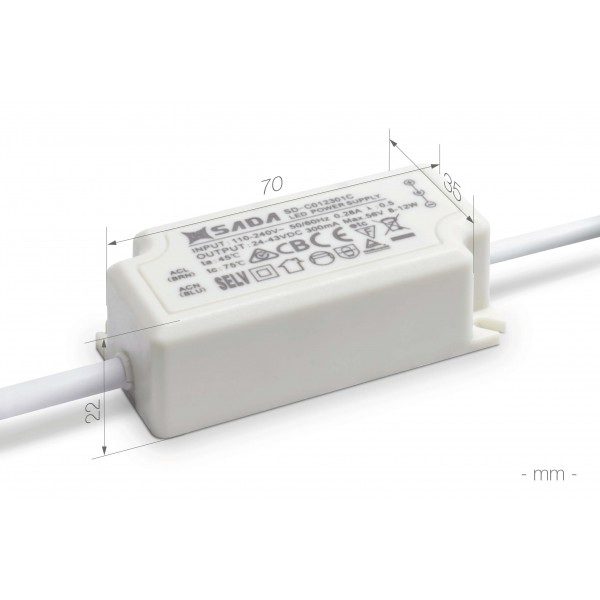 Rundes LED Panel - 9W - Controller - Bema??ung