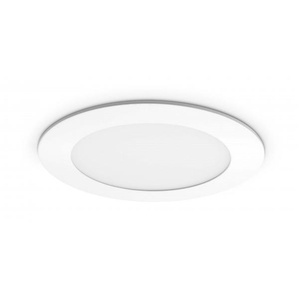 Rundes LED Panel - 9W - ausgeschaltet - Decke