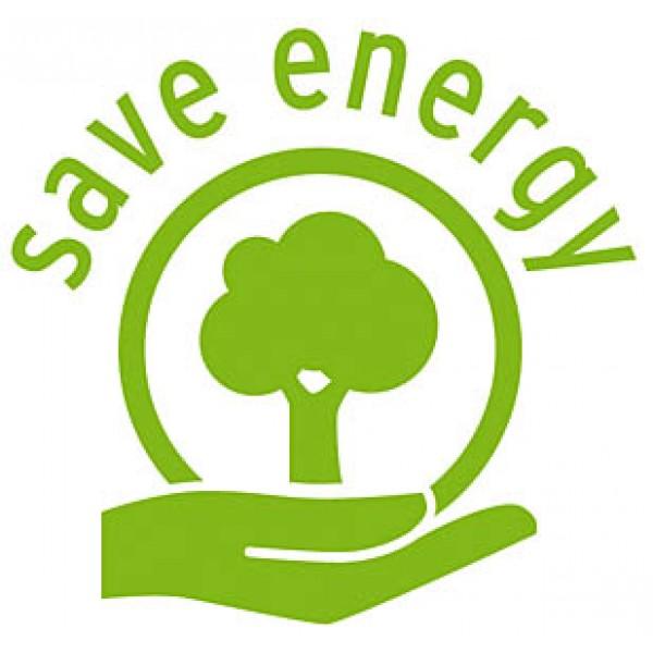 Spart umweltfreundlich Energie