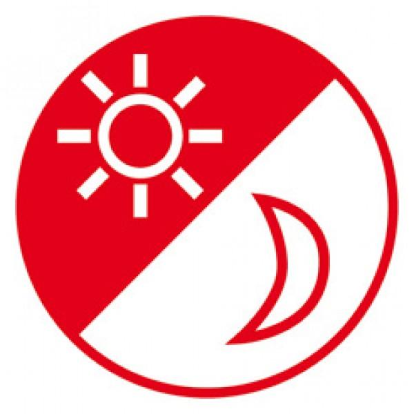 Brennenstuhl Batterie LED Nachtlicht mit Schalter und Bewegungsmelder wei??