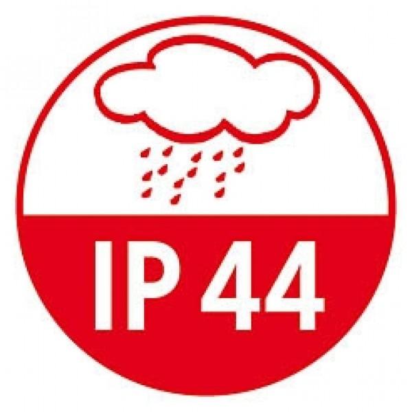 IP44 (spritzwassergeschützt) für den Außenbereich