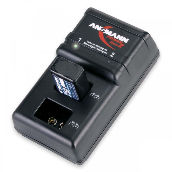 Powerline 2 Steckerladegerät (Lieferung ohne Akku)