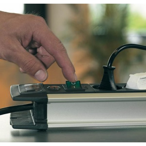 Brennenstuhl Premium-Protect-Line  mit Schalter