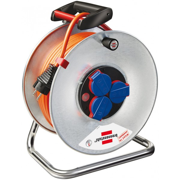 Brennenstuhl Garant S IP44 Kabeltrommel 25m orange Bremaxx AT-N07V3V3-F 3G1,5