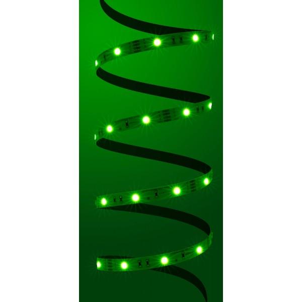 Classic 12V RGB LED Streifen 30 LED/m - grün