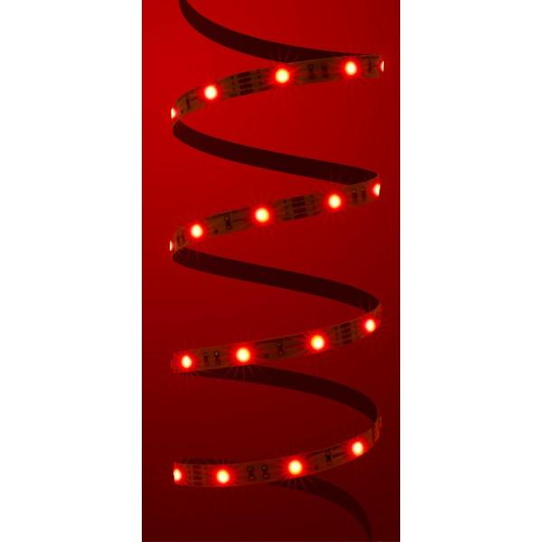Classic 12V RGB LED Streifen in rot