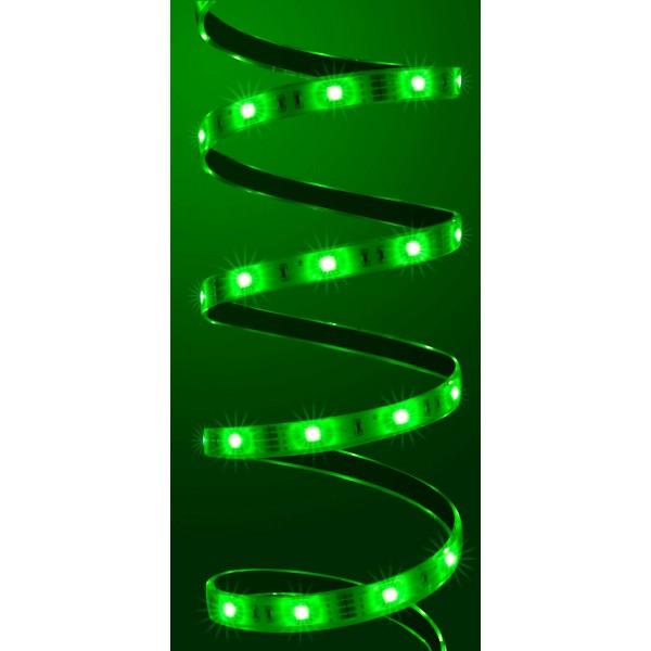Comfort 12V RGB LED Streifen 5m 30 LED/m - grün
