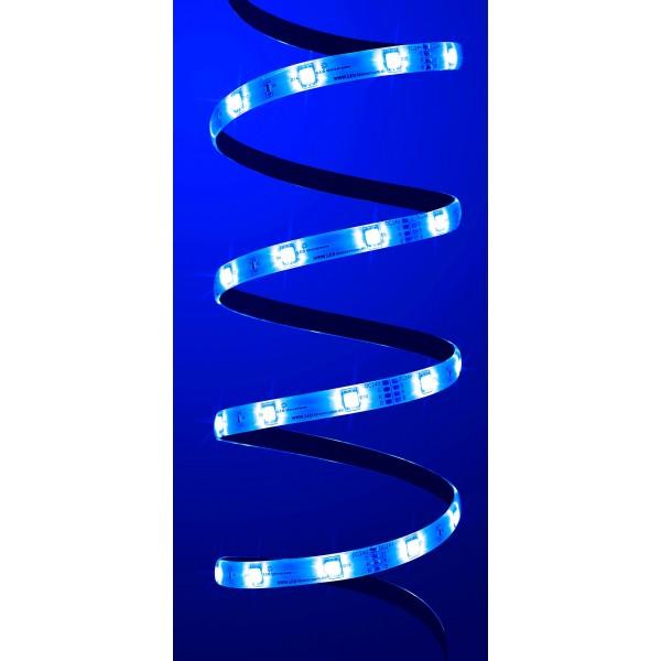 LED Streifen in der Farbe blau