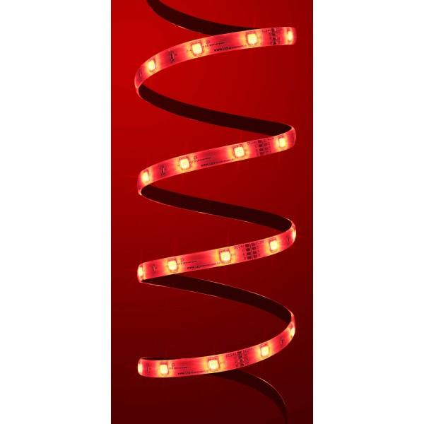 Premium 24V RGB LED Streifen 30 LED/m - in rot