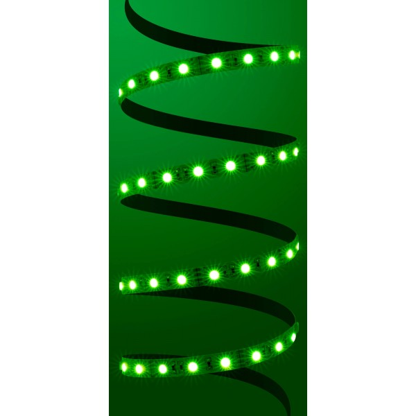 Classic 12V RGB LED Streifen - grün