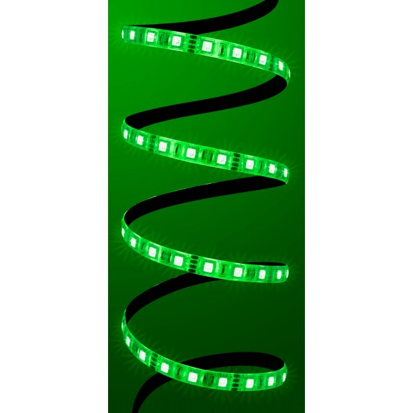 Comfort 12V RGB LED Streifen 60 LED/m - grün