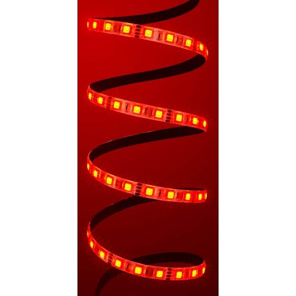 Comfort 12V RGB LED Streifen 60 LED/m - rot
