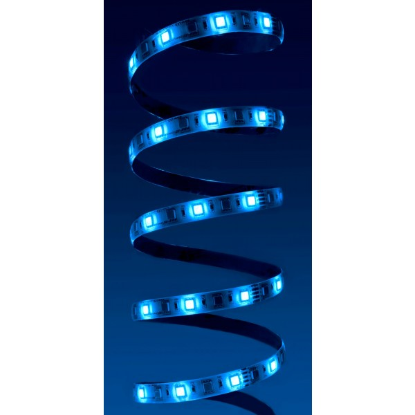 Premium 24V RGBW LED Streifen - blau
