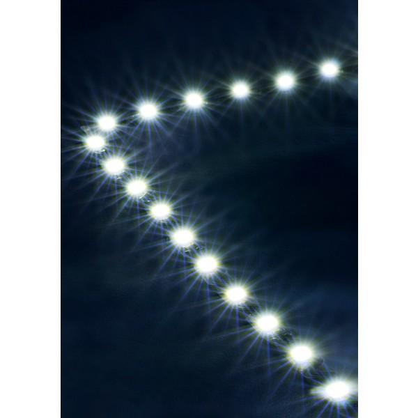 Premium 24V S-Shape Streifen Set - 72 LED/m - kaltwei?? - Anwendung Ecke