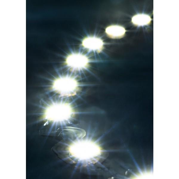Premium 24V S-Shape Streifen - 72 LED/m - kaltwei?? - Anwendung Kurve