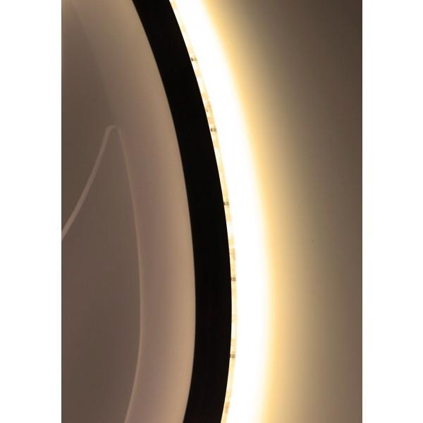 Premium 24V LED SideView Streifen Set 120 LED/m - warmweiß - angestrahlte Wand