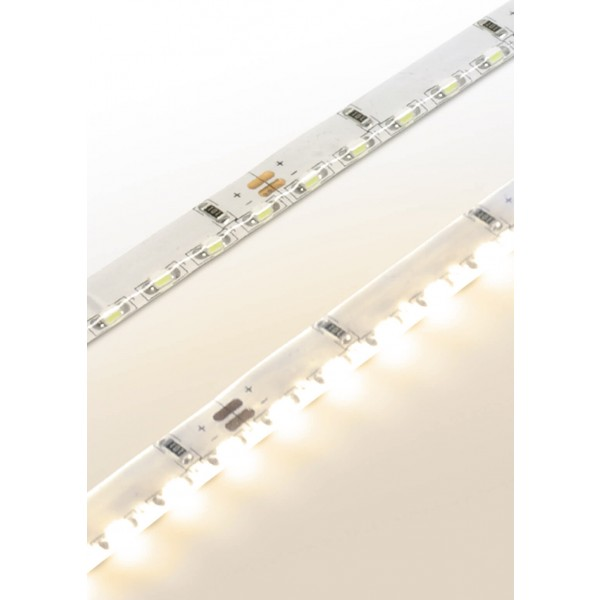 Premium 24V LED SideView Streifen Set 120 LED/m - warmweiß - Detailbild