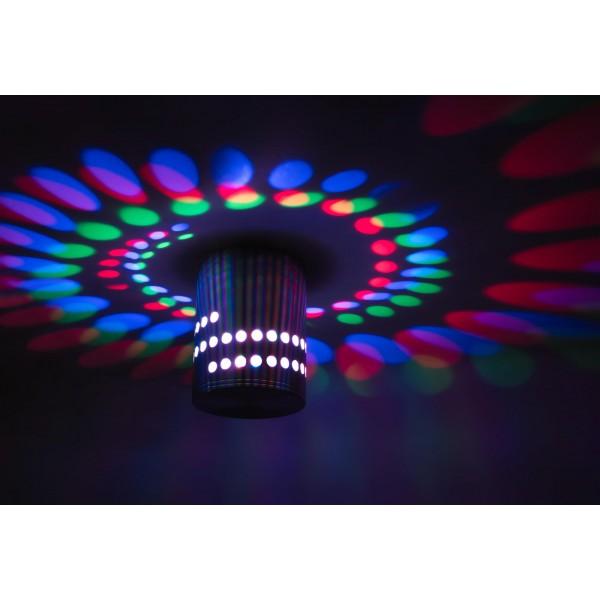 LED Spiralleuchte Stella ??? Anwendungsbeispiel Deckenleuchte in RGB