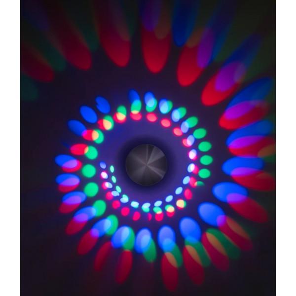 LED Spiralleuchte Stella ??? Anwendungsbeispiel Wandleuchte in RGB