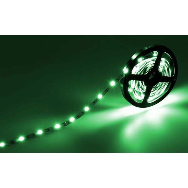 Classic 12V SELV RGB LED Streifen 30 LED/m - Gruen