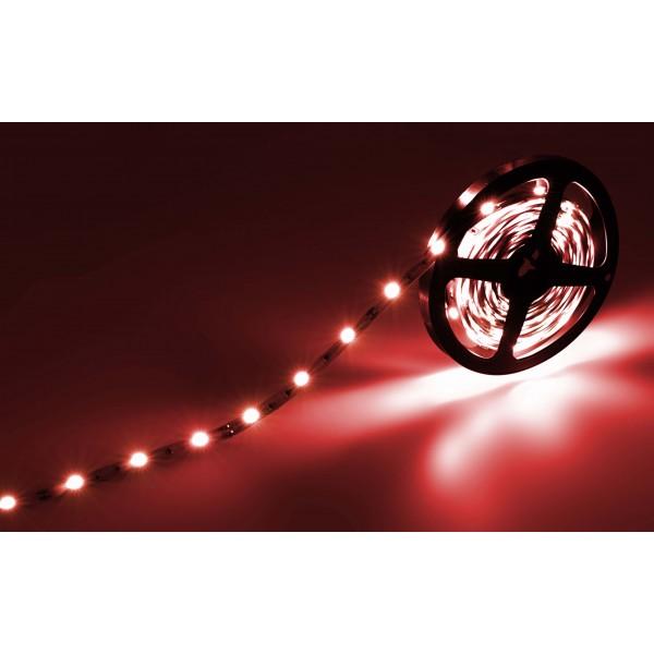Classic 12V SELV RGB LED Streifen 30 LED/m - Rot