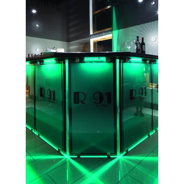 Premium 24V RGB LED Streifen  - Anwendungsbeispiel - grün