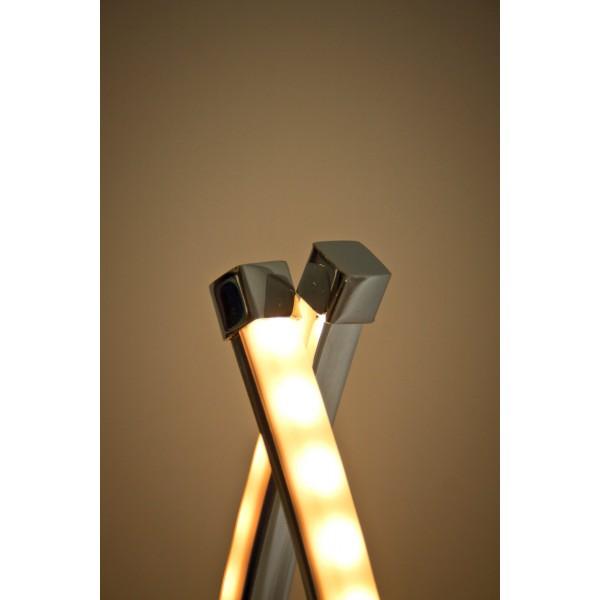 Elegante LED Stehleuchte Halma - Detailbild
