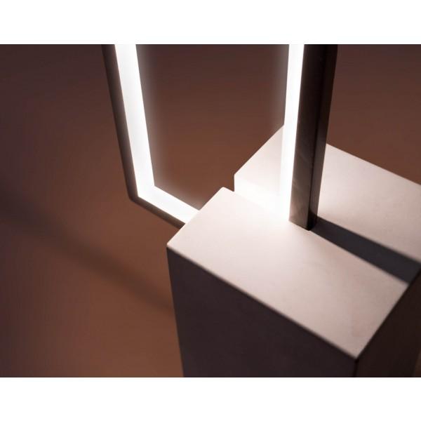 Urbane LED Stehleuchte Nunia - Detailbild